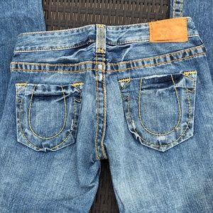 True Religion Bobby Big T  Jeans EUC 27x31